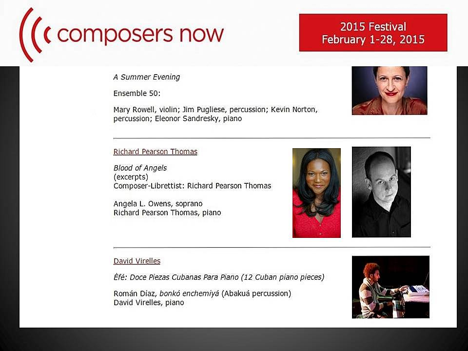 Composers now promo